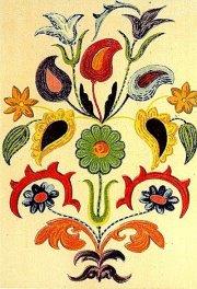 Вышивка татарский народный орнамент