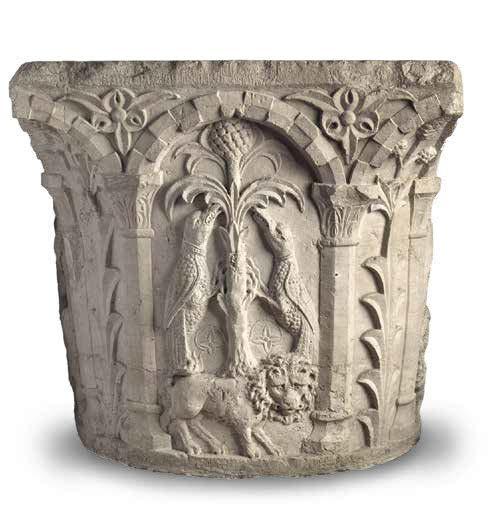 Обрамление колодца Венеция 13 век Ялтинскиц историко-литературный музей.jpg