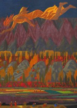 Заравшон 2012, хм 140х100 Фонд Марджани