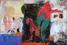 Рамин Нафиков. Белый ветер. 2009 г. Холст, масло 118,5х177  Коллекция Фонда Марджани